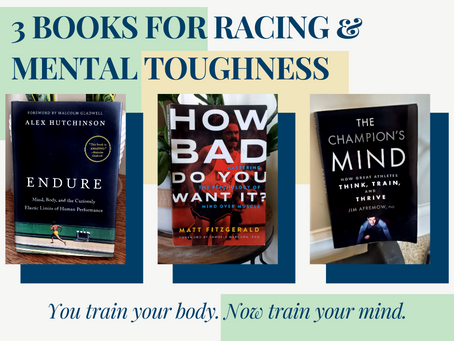 3 Books for Runners on Mental Strength & Racing Toughness