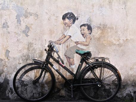 Street Art, Affen & Hello Kitty