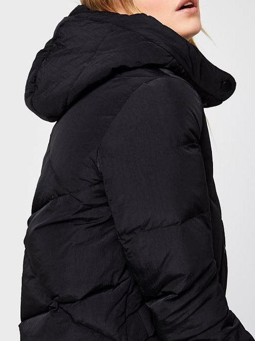 PCSTORMY LONG DOWN JACKET PIECES - BLACK