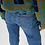 Thumbnail: SLIM STRAIGHT LEG-JEANS MEDIUM BLUE DENIM