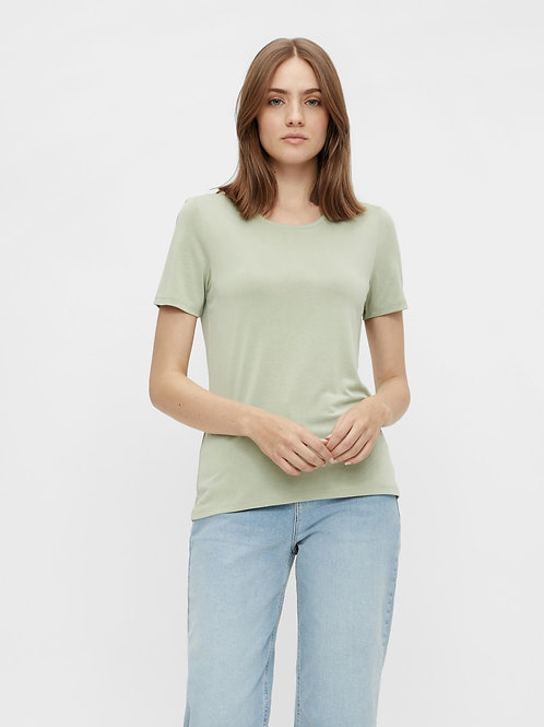 KAMALA BASIC T-SHIRT PIECES - DESERT SAGE