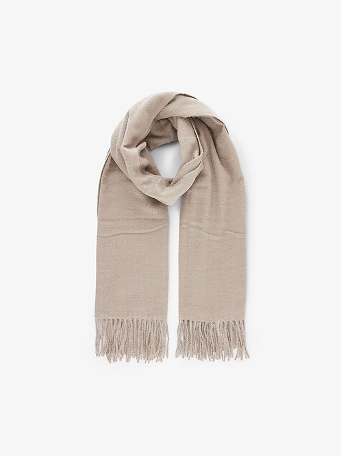 KIAL NEW LONG SCARF NATURAL/BEIGE