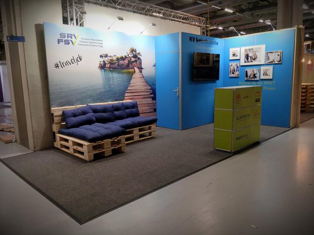 Schweizer Reiseverband Berufsmessen 2019