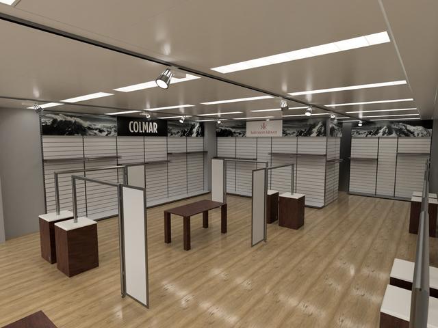 Showroom Konzept CC Trading AG