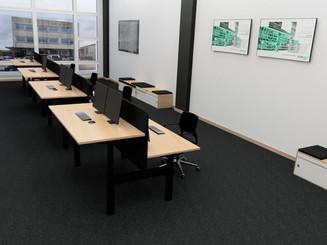 Bürokonzept NIOS AG 2020
