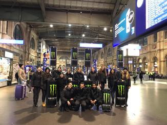 Monster Energy Samplingwagen