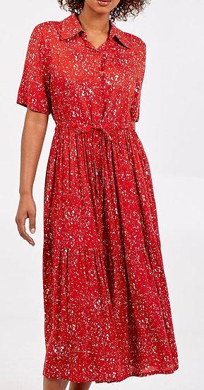 Button Through Shirt Dress