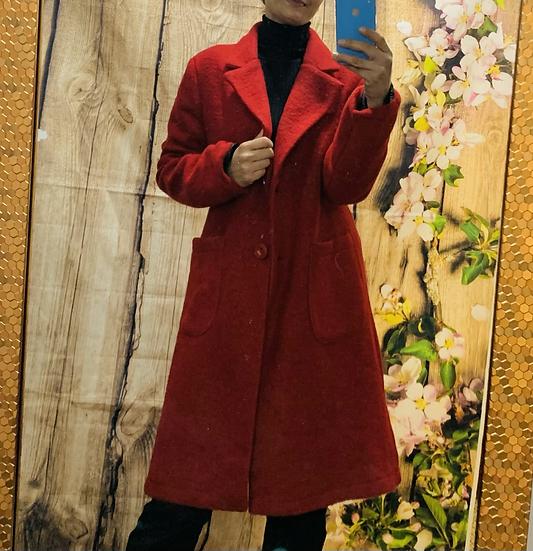 Wool Jacket Red