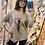 Thumbnail: Coloured leaf soft knit