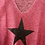 Thumbnail: Contrast Star Brushed Italian Top