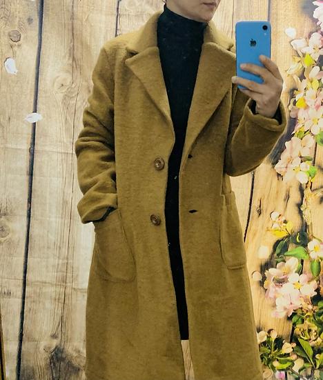 Wool Jacket Tan
