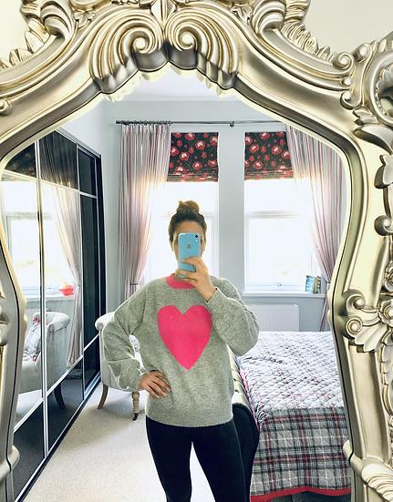 Soft knit Heart sweater