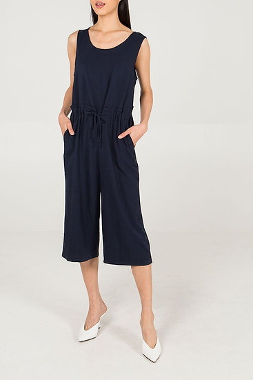3/4 length jumpsuit