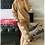 Thumbnail: LOUNGEWEAR CO ORD SET IN CAMEL WITH STARS