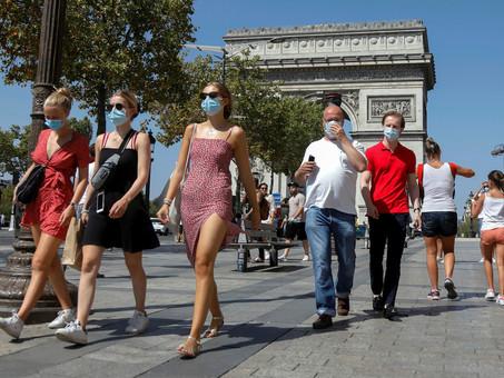 Máscaras de panos estão sendo proibidas nos países Europeus