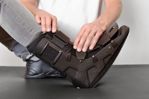 Para que serve a bota imobilizadora ROBOFOOT?