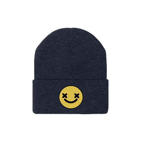 Smiley Knit Beanie