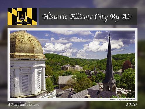 2020 Historic Ellicott City By Air Calendar