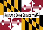 Maryland Drone Service Logo Commercial Aerial Video Photography Mid-Atlantic