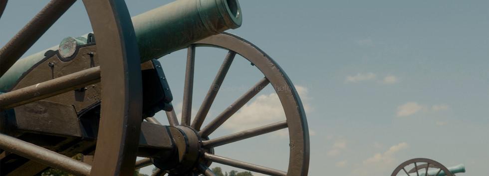 Antietam Battle Cannons