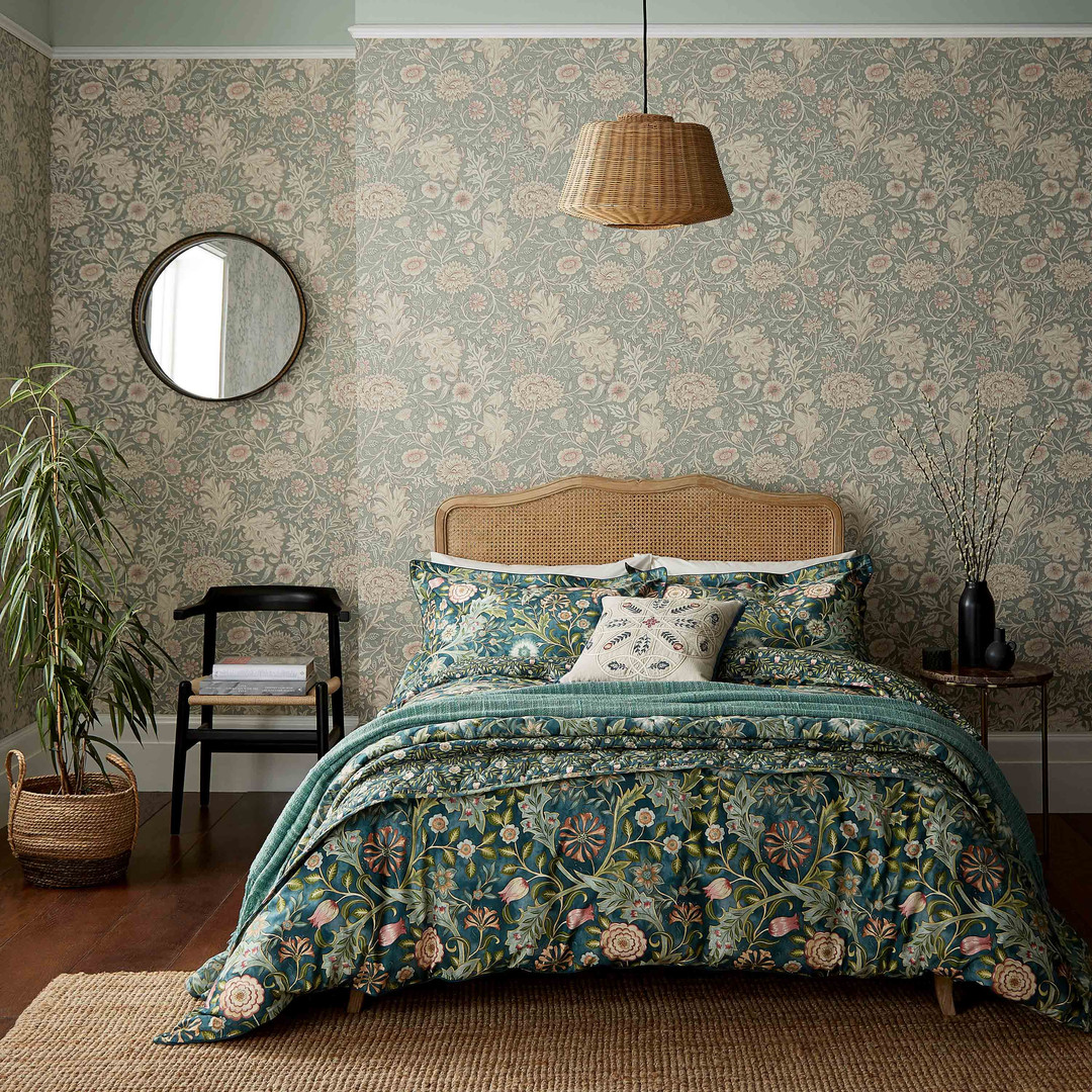 Wilhelmina Bedding by Morris & Co
