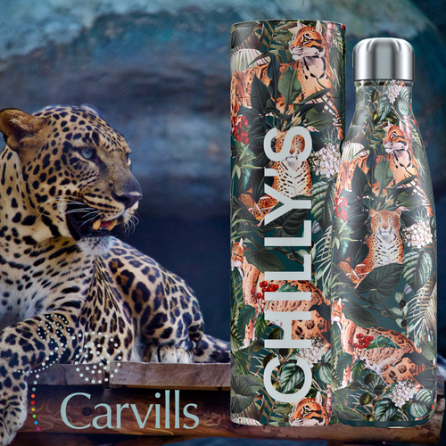 Chilly's Tropical Leopard Bottle 500ml