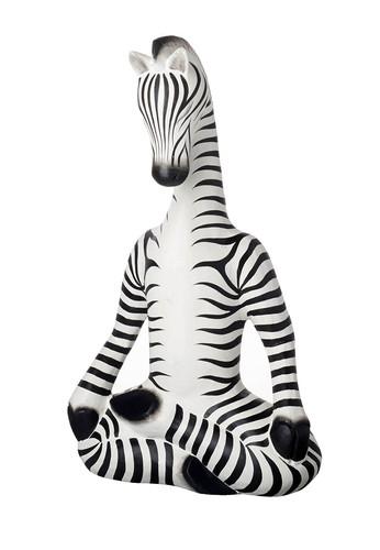 Sukhasana Pose Zebra