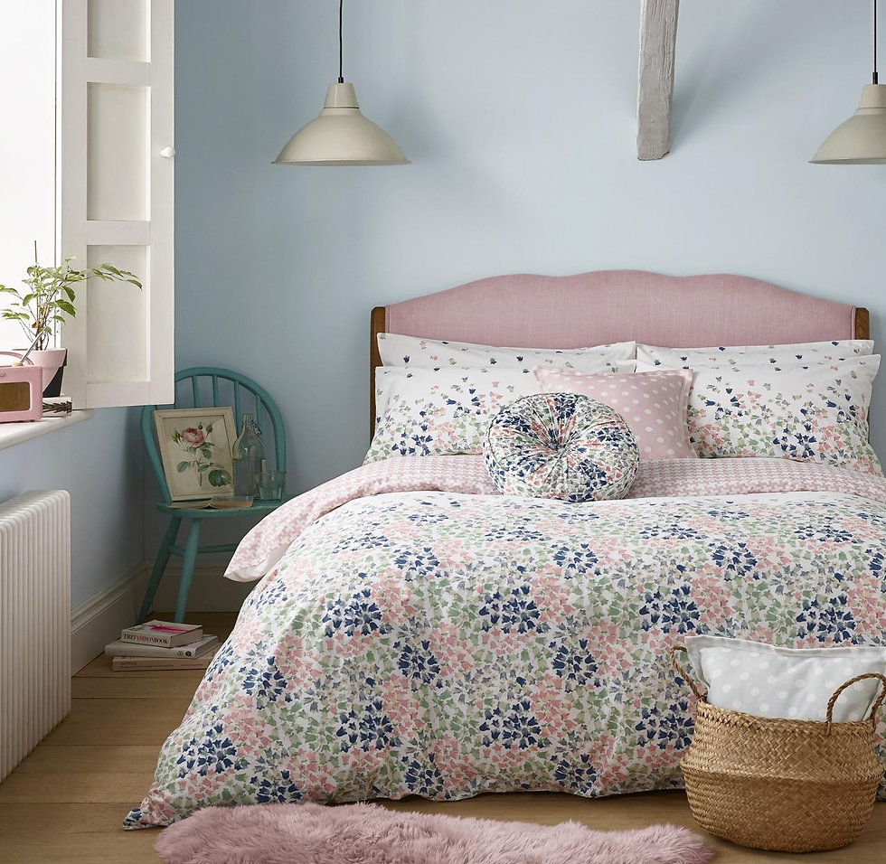 Bluebells Reversible Bedding Set by Cath Kidston - Carvills Bedroom