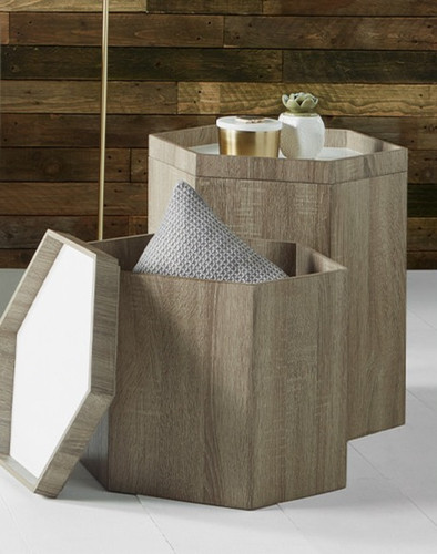 Hexagonal Storage Boxes