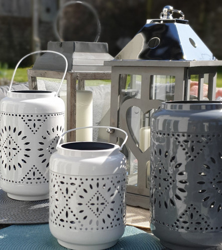 Assorted Candle Lanterns for indoors and out-of-doors