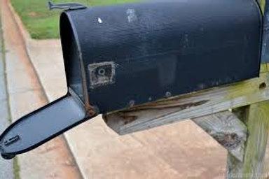 Re-paint Mailbox