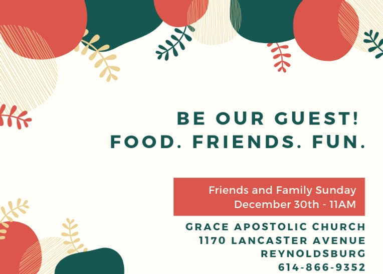 Services and Events | Grace Apostolic Church