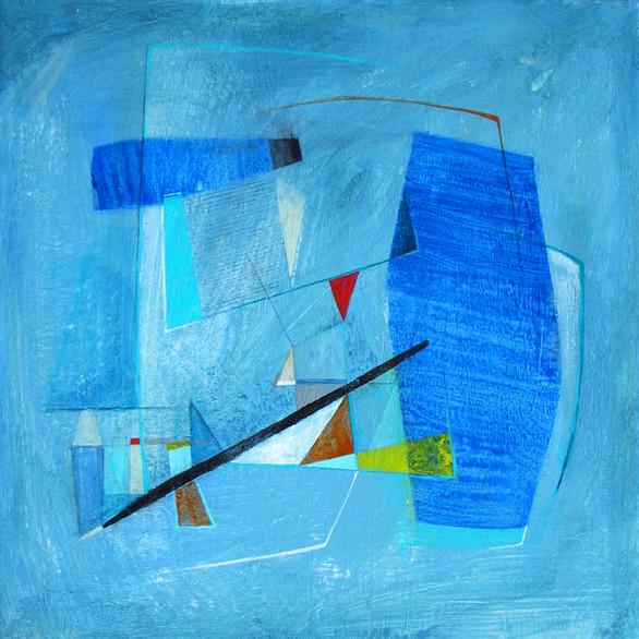 Modern Space - Blue Study I