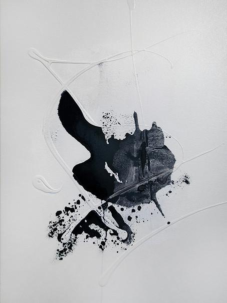Ink Painting - Light Black