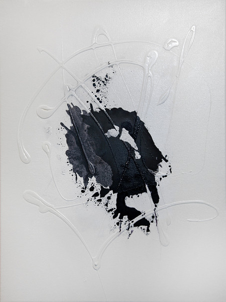 Ink Painting - Matte Black