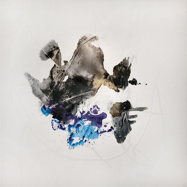 Ink Painting - Cyan
