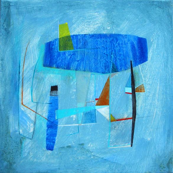 Modern Space - Blue Study II