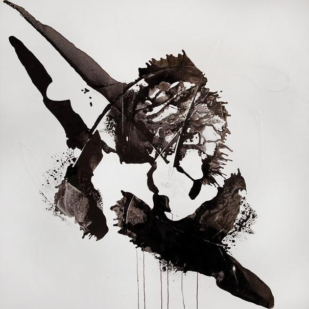 Ink Painting - Black#2