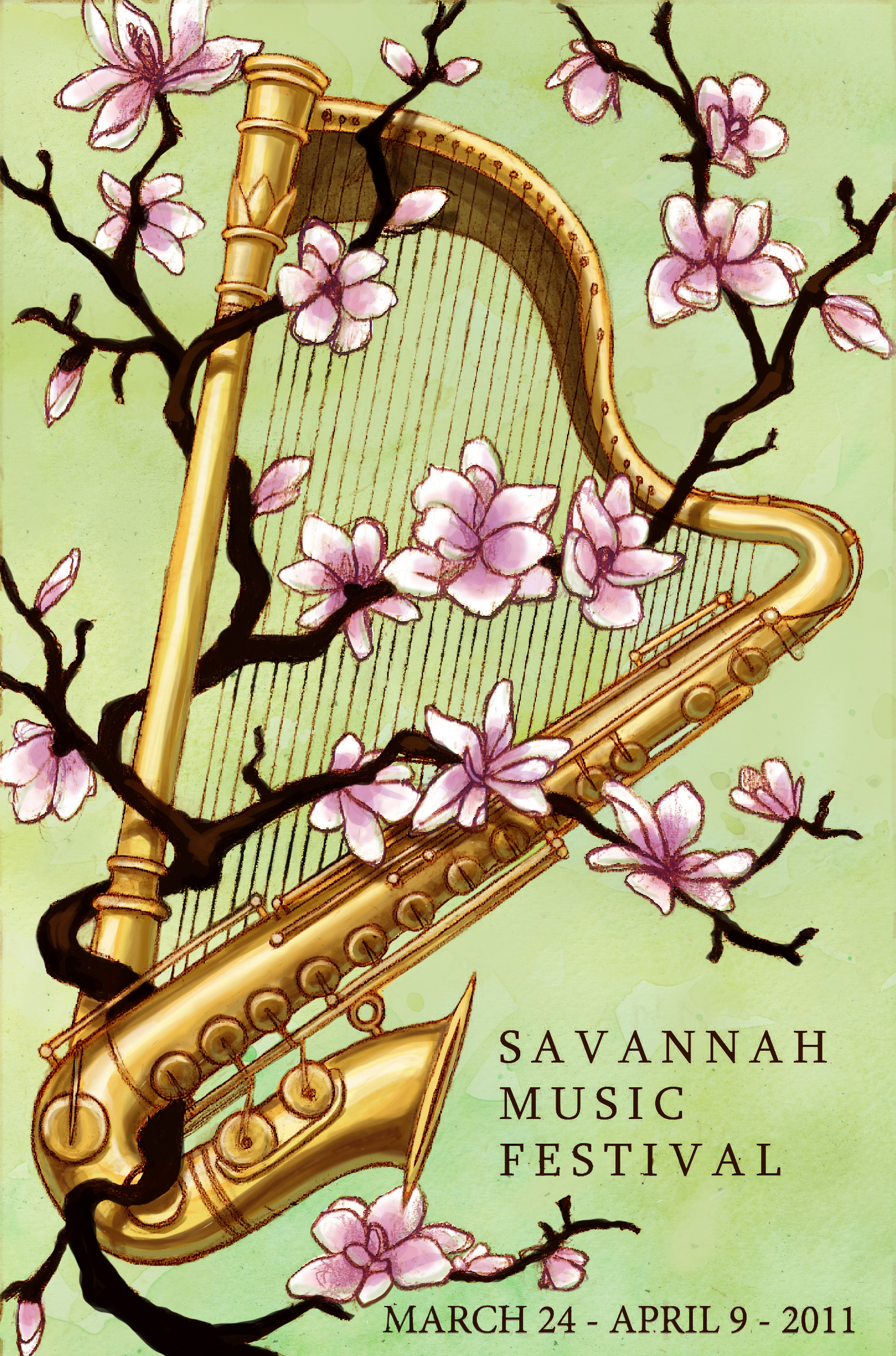 Savannah Music Poster