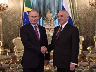 В.Путин о сотрудничестве «Сколково» с Бразилией