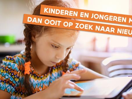 Kinderen en jongeren meer dan ooit op zoek naar nieuws en betrouwbare informatie