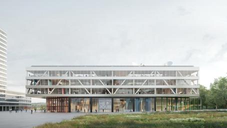 VRT krijgt nieuw duurzaam en groen gebouw in Brussel