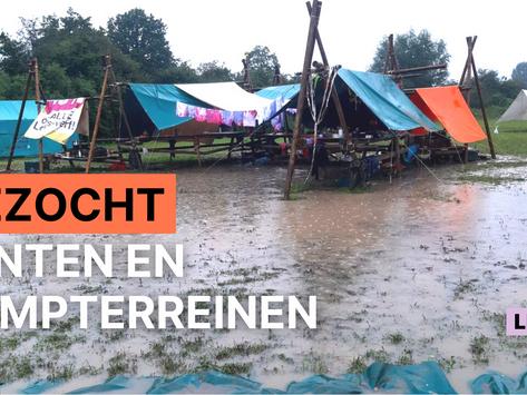 """Dalle doet oproep """"Tenten en terreinen zijn nu prioriteit om de kampzomer te redden"""""""