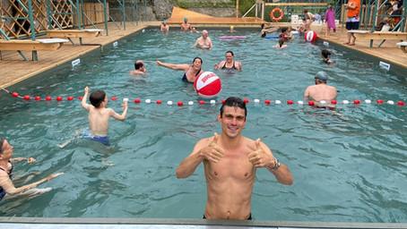 Openluchtzwembad FLOW in Brussel vanaf vandaag open