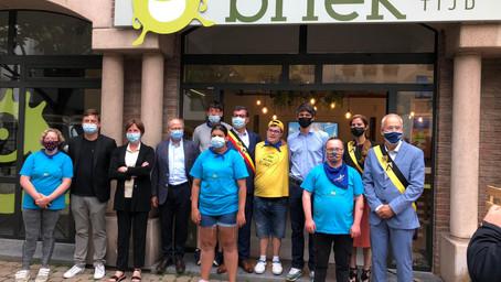 Minister Dalle opent vrijetijdscentrum voor jongeren met beperking in Oostende