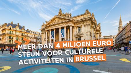 Meer dan 780 activiteiten in Brussel georganiseerd met Vlaamse culturele activiteitenpremie