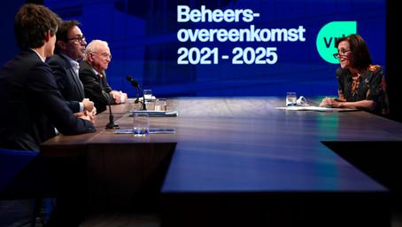 Vlaamse Regering en VRT bereiken akkoord over nieuwe beheersovereenkomst