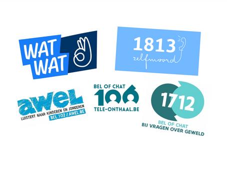 Extra middelen voor WAT WAT, Awel, Tele-Onthaal, 1712 en 1813
