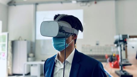 Jongeren gemeenschapsinstelling Wingene maken kennis met virtuele realiteit