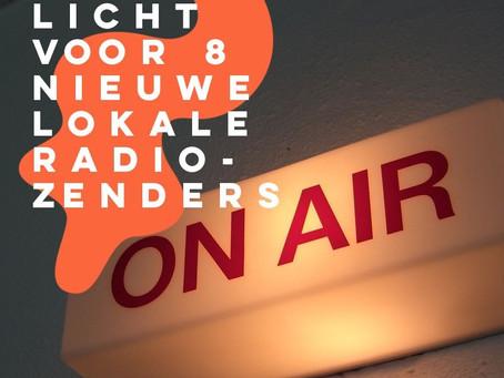 Groen licht voor 8 nieuwe lokale radiozenders